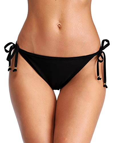 - Sociala Cheeky Swim Bottoms for Women Tie Side Swimsuit Bottoms Bikini Bottom XL