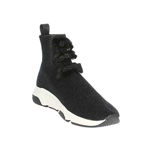 Bassa Sneakers Betty Nero 10 Pregunta Donna Z6pHx