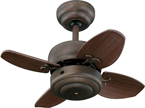 Monte Carlo 4MC20RB Mini Ceiling Fan, 20