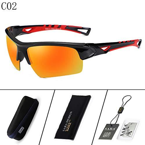 Gafas 1 Mjia nbsp;Outdoor 2 nbsp; Black polarizadas Sports sunglasses de Mirror Hombre Black nbsp; Riding Deportivas Gafas Sol nbsp;Goggles CBxgUq5wB