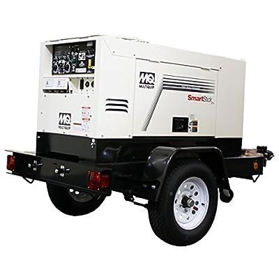 Multiquip DLW400ESA4 Welder Tier 4 Ground Fault Circuit Interrupter, 400 Amp Dual, 14kW