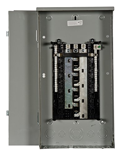 - Siemens SW2442L3200 200-Amp Outdoor Main Lug 24 Space, 42 Circuit 3-Phase Load Center