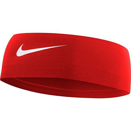 NIKE Women's Fury Headband 2.0 Gym Red/White Size One Size