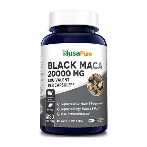 Black Maca Root 20000mg