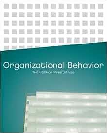 organizational behavior 10th edition fred luthans pdf