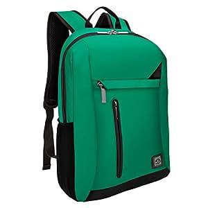 VanGoddy Business Travel College Carrying Laptop Messenger Bag Briefcase Backpack Knapsack For Up to 15.6 Inch Macbook / Laptop / Notebook / Tablet PC / Ultrabook / Chromebook Vertical Green