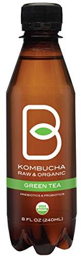 Review B-tea Kombucha Raw Organic