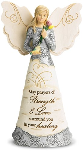 Pavilion Gift Company 82348 Strength and Healing Angel Figurine, 6-1/2-Inch