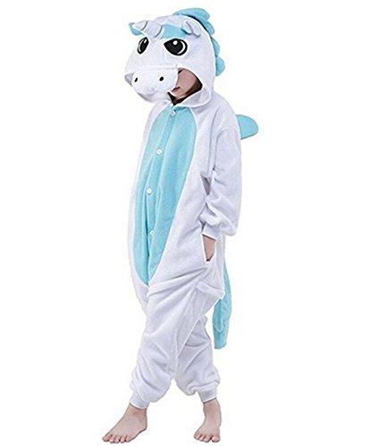 da Notte Bambini Tuta M Kenmont Costumi Cosplay Unicorno Halloween Blue Pigiama Natale pigiamas Animale Camicie Carnevale Fdqd7SwO