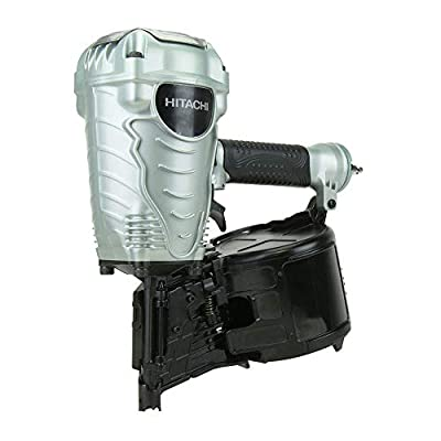 Hitachi NV90AGS Hitachi NV90AGS 3-1/2 in. Coil Framing Nailer (Certified Refurbished) by Hitachi