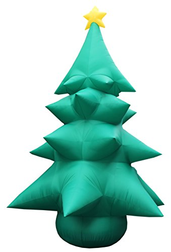 20 Foot Tall Inflatable Christmas Tree with Star (20 Foot Inflatable)