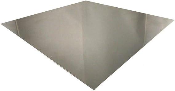 6mm Edelstahl V2A Platten 100 mm bis 2000 mm Edelstahlblech Bleche Zuschnitt