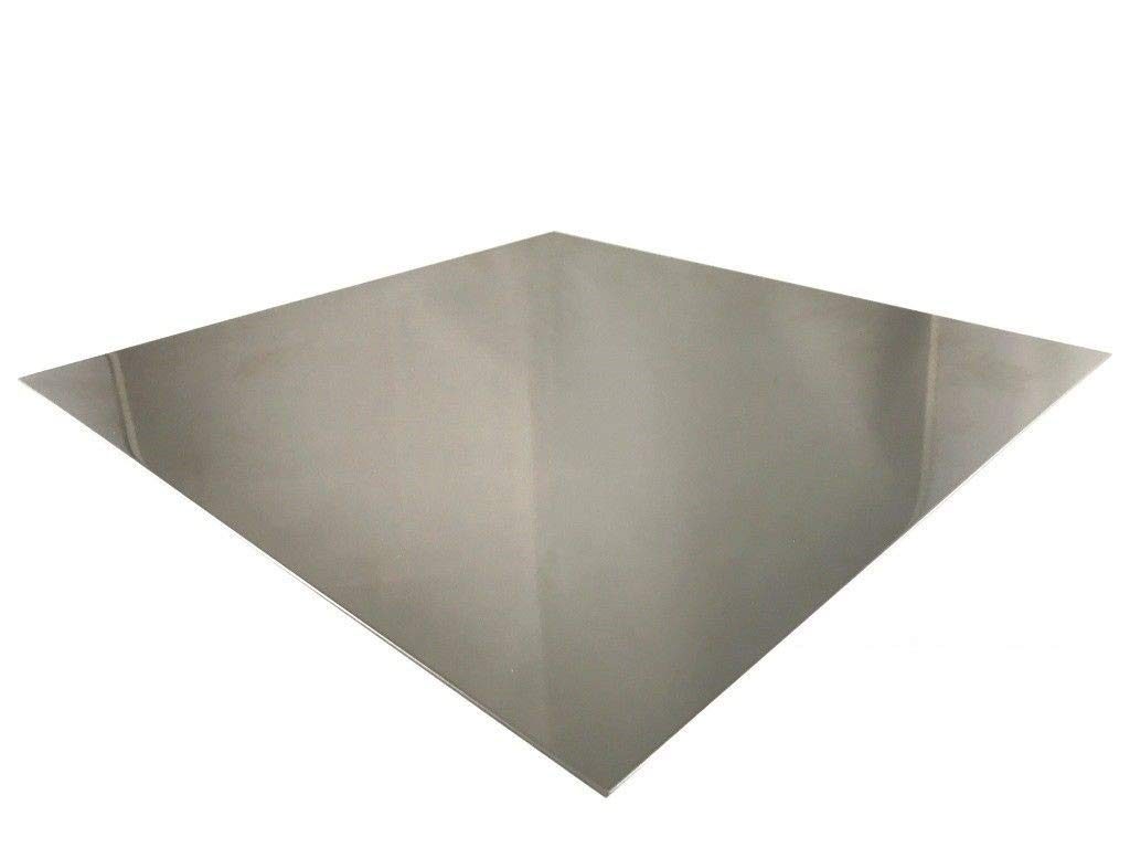 1 100mm x 100mm Stainless Steel 3/ mm V2/ A Sheet Set Ground Cutting 1.4301/ Stainless Steel Plate Cut to your Exact Size