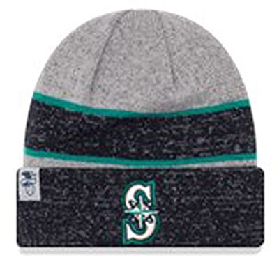 New Era Authentic Seattle Mariners Team Color Sport Knit Beanie OSFM Hat
