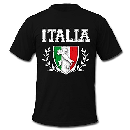 Free Vintage Italian Flag Men's T-Shirt by American Apparel by Spreadshirt