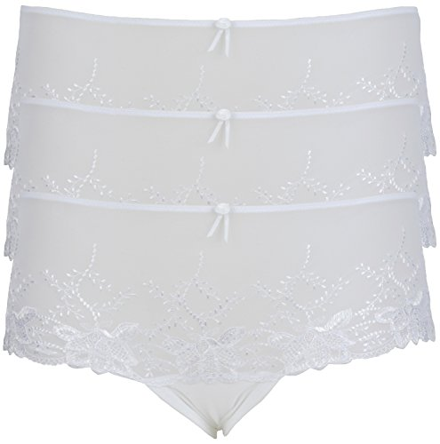 EX-ropa de Mujer tienda Hipster 3 Pack White