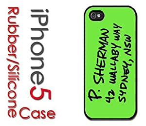 iPhone 5 Rubber Silicone Case - P Sherman Address in Sydney, NSW 42 Wallaby Way