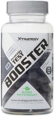 Endurance Strenght XTRATEGY Test Booster Promotes Endurance and Strength, Plant-Based Formula, Boosting Testosterone Production in A Natural Way