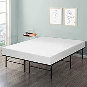 best price mattress 8 memory foam mattress bed frame set twin no box spring. Black Bedroom Furniture Sets. Home Design Ideas