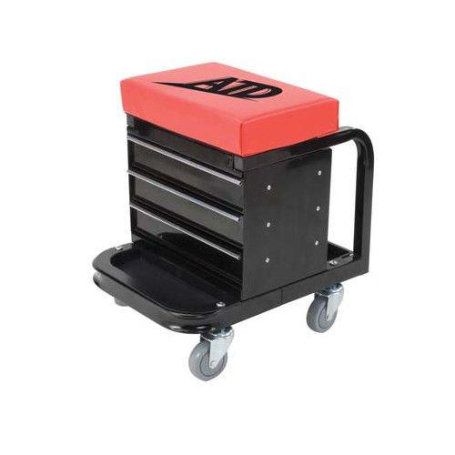 ATD Tools 81047 Heavy Duty Toolbox Creeper Seat – 450 lb. Capacity