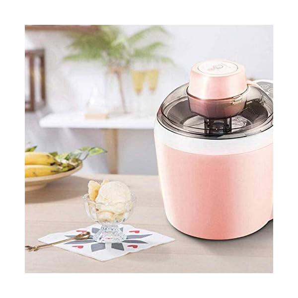 QIYUE Ice Cream Maker, Ice Maker MachineIce Maker macchina, in casa di qualità professionale Ice Cream - Ideale for… 3 spesavip