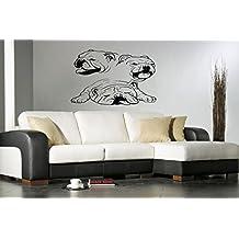 Englis Bulldog Dog Puppy Breed Pet Animal Family Wall Sticker Decal Mural 2919