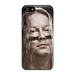 Randolphfashion2010 Apple Iphone 5/5s Protective Hard Cell-phone Case Customized High Resolution Ensiferum Band Image [Uai1694YsuR]
