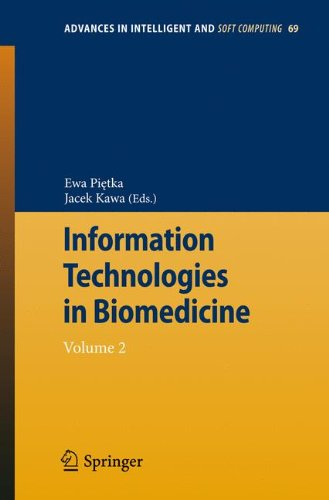 Download Information Technologies in Biomedicine: Volume 2 (Advances in Intelligent and Soft Computing) pdf