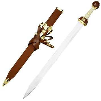 Amazon.com: Maximus Romano Gladiador espada medieval Gladius ...
