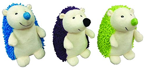 Ethical Pets Gigglers Hedgehog Dog Toy, 6.5-Inch, Assorted