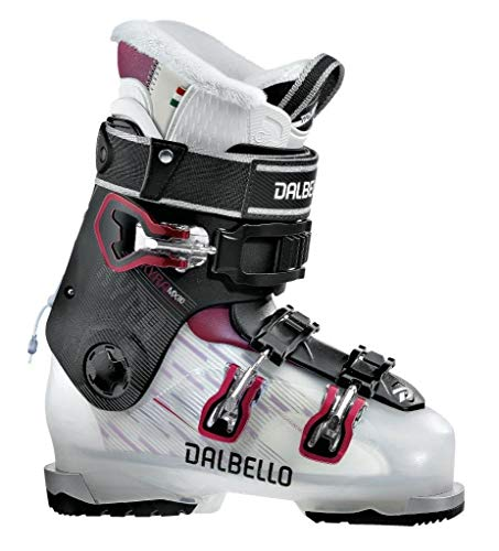Dalbello Kyra MX 80 Womens Ski Boots 2018 - 23.5/Transparent-Black Dalbello Alpine Ski Boots