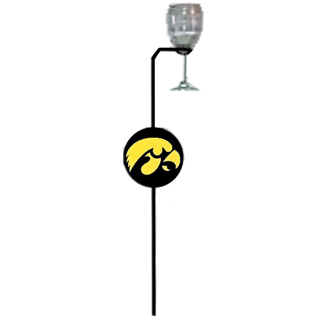 7055 Inc University of Iowa Hawkeyes Stemware and Wine Glass Holder