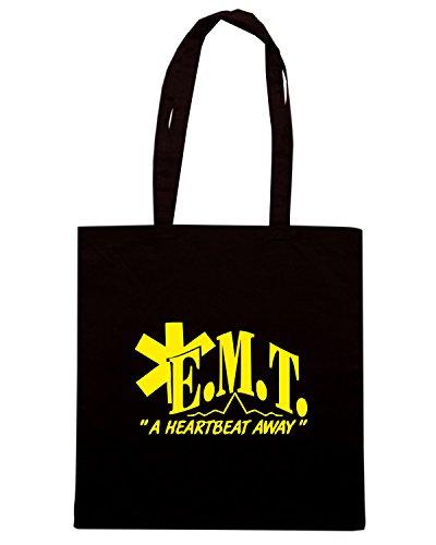 T-Shirtshock - Bolsa para la compra FUN0398 830e emt vinyl decal 63807 Negro