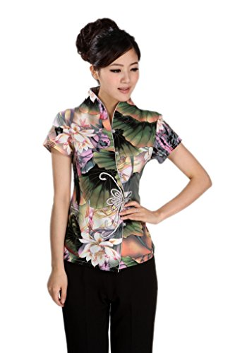 AvaCostume Womens Chinese Sleeve Blouse