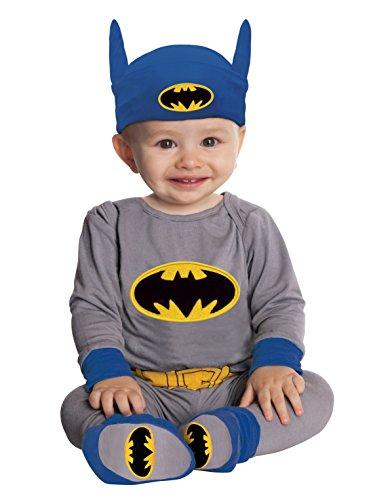 Comics Gray Batman Onesie Headpiece