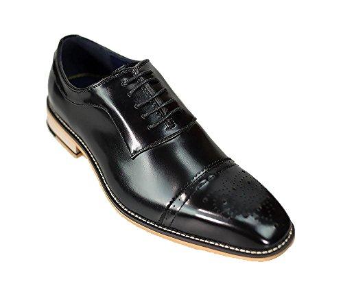 Chaussures Homme Lacets Noir de Ville pour à Cavani gfpqdg