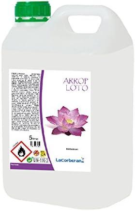 LA CORBERANA Desodorante Textil/Ambientador para Ropa (Loto, 5 litros)