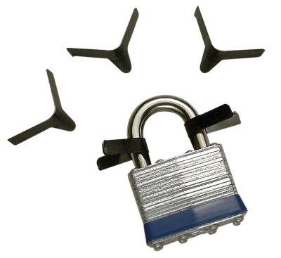 10pcs Cadenas Shim Set Lock Opener Accessoires Set