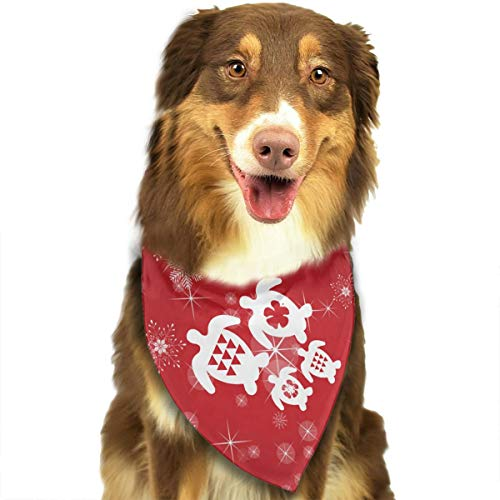 Ohana Honu Hawaiian Sea Stylish Dog Bandana Bibs Scarf Pet Dog Cat Dog Scarf -