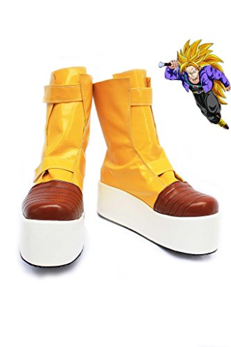 Dragon Ball Z Trunks Cosplay Shoes Boots Custom Made