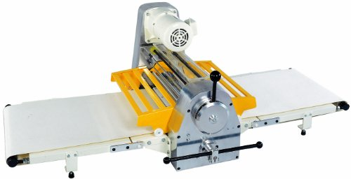 Thunderbird TBD-500T Tabletop Reversible Dough Sheeter, 500mm