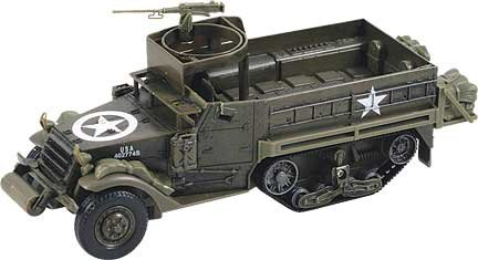 M3 Personnel Carrier Half-track 1/32 Scale Plastic Model (Kit, assembly -