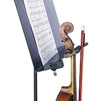 Cuerda Swing CC08 - Colgador para violín con accesorio de clavija de arco para atril de música