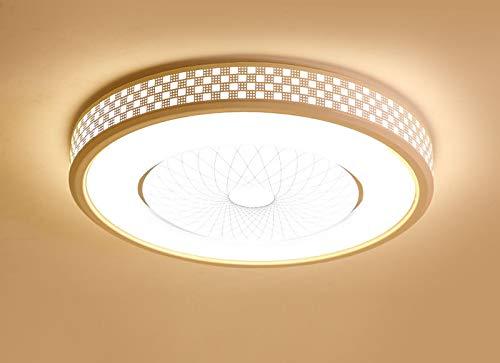 ラウンドLEDシーリングライトリビングルームのランプ寝室のランプルームランプ約束調光直径40センチ高さ10センチ B07RX5L85G