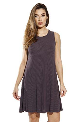 401560-CHR-1X Just Love Sleeveless Trapeze Short Dress / Summer Dresses for Women (Sleeveless Cocktail Mini Knit)