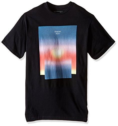 (Ezekiel Men's Fader Slim T-Shirt, Black, Large)
