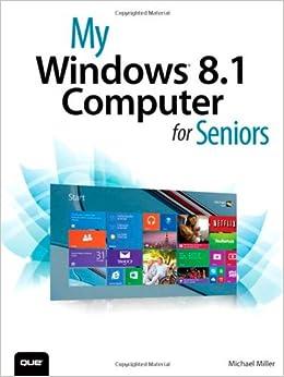 Book My Windows 8.1 Computer for Seniors