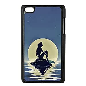 Chinese The Little Mermaid Custom Phone Case for iPod Touch 4,personalized Chinese The Little Mermaid Case