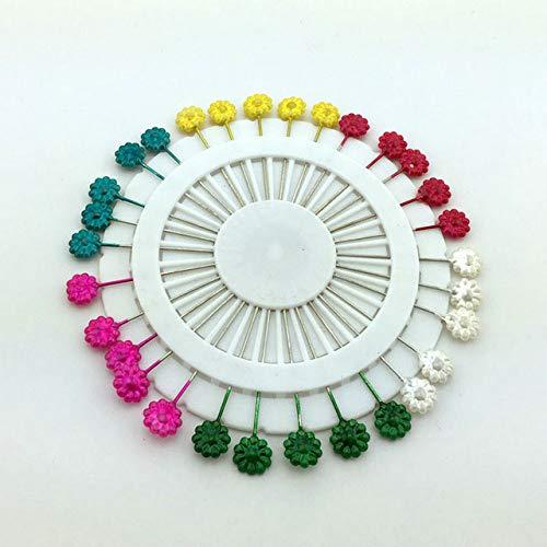Shoppy Star 30 unids/set 5.5 cm Colores mezclados Flor Ãrbol Hoja Patrón Pasadores de bricolaje Trabajos manuales...