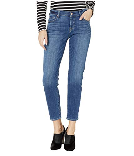 7 For All Mankind Women's Josefina Boyfriend Jean, Broken Twill Vanity Modern, 29 ()